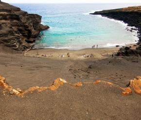 Зелёный пляж, автор: Pushkr, источник: visualhunt.com