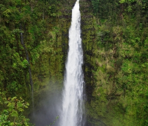 Водопад Акака, автор: kanu101. Источник: visualhunt.com