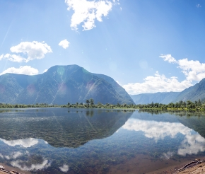 Телецкое озеро, фото нашего странника Дмитрия Кочерыгина