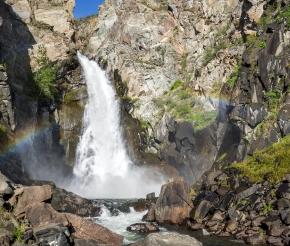 Водопад Куркуре, фото нашего странника Дмитрия Кочерыгина