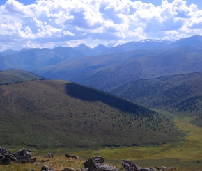 Панорама Катунского хребта