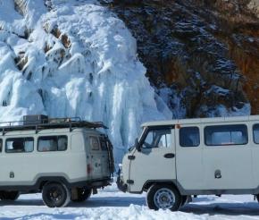 Наш ледовый транспорт!