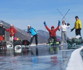 Отправляемся в путь на коньках