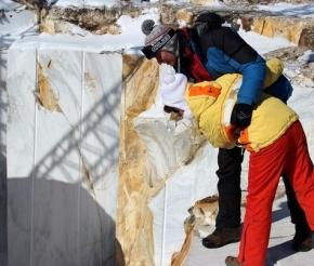 Карьер статуарного мрамора в Бугульдейке