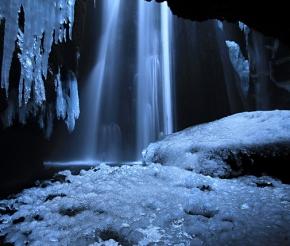 Водопад в секретном месте