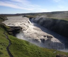 Водопад Гюльфосс