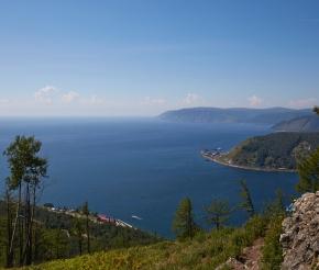 Вид на Байкал с камня Черского, фото: Дмитрий Вишневский