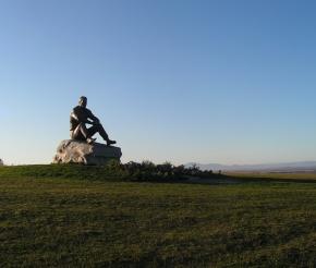 г. Пикет, памятник В.М. Шукшину