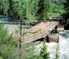 Мост через реку Чую