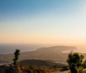 Вид с горы Пророка Илии