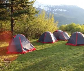 Наш лагерь, фото: Максим Маршанский