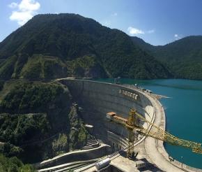 Ингурское водохранилище, фото: Валентина Тереева