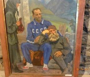 В Музее Хергиани