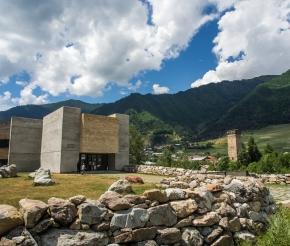 Современный музей Сванетии