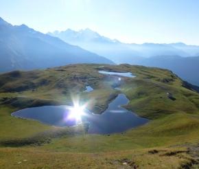 Озеро Корульди в сентябре