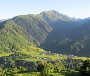 Село Верхняя Сванетия