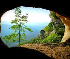 Из пещеры, фото: Сергей Евсяков