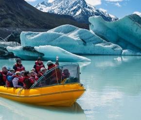 Завараживающий Тасманский ледник