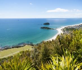 Вид на пляж Тауранга в солнечный день, автор: brianscantlebury.com