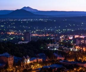 Вечерний Пятигорск