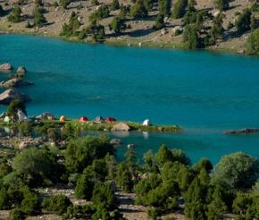 Стоянка, озеро Бибиджонат