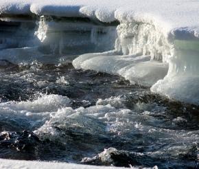 Зимние фактуры Камчатки