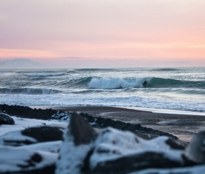 Если повезет, можно будет встретить arctic-серфингистов :)