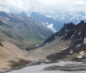С перевала Ирикчат