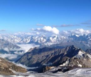 Ледники медленно ползут вниз