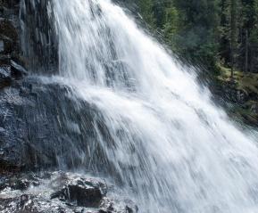 Водопад Поперечный.
