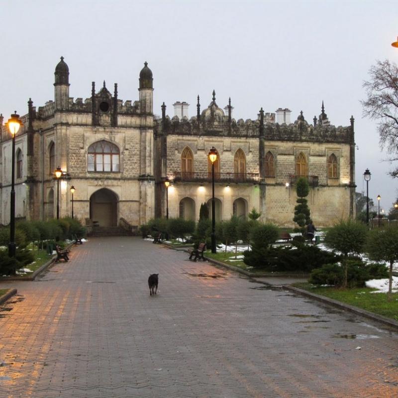 Зугдиди, дворец Дадиани