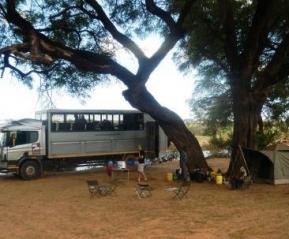 Фотографии из путешествия. Наш кемпинг и чудо-автобус
