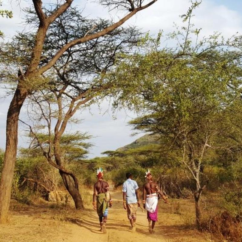 Фотографии из путешествия. Движемся к вершине вместе с воинами Самбуру