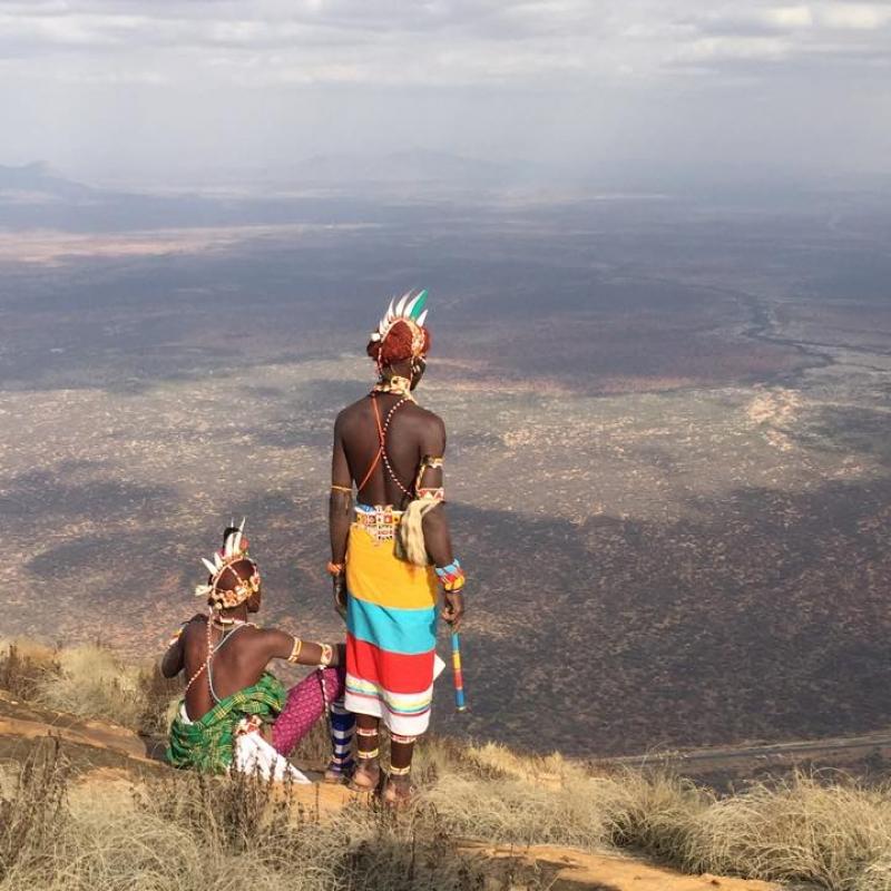 Фотографии из путешествия. На вершине Ол Донио Сапаче