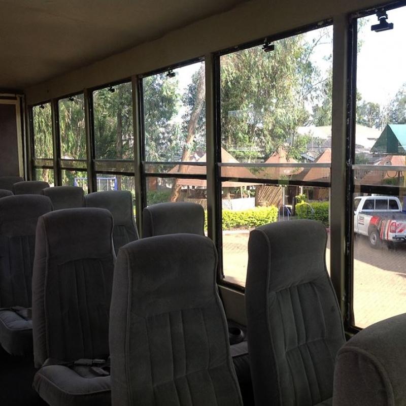Фотографии из путешествия. Наш автобус - настоящий дом на колесах!