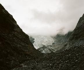 Ледник Франса-Джозефа.