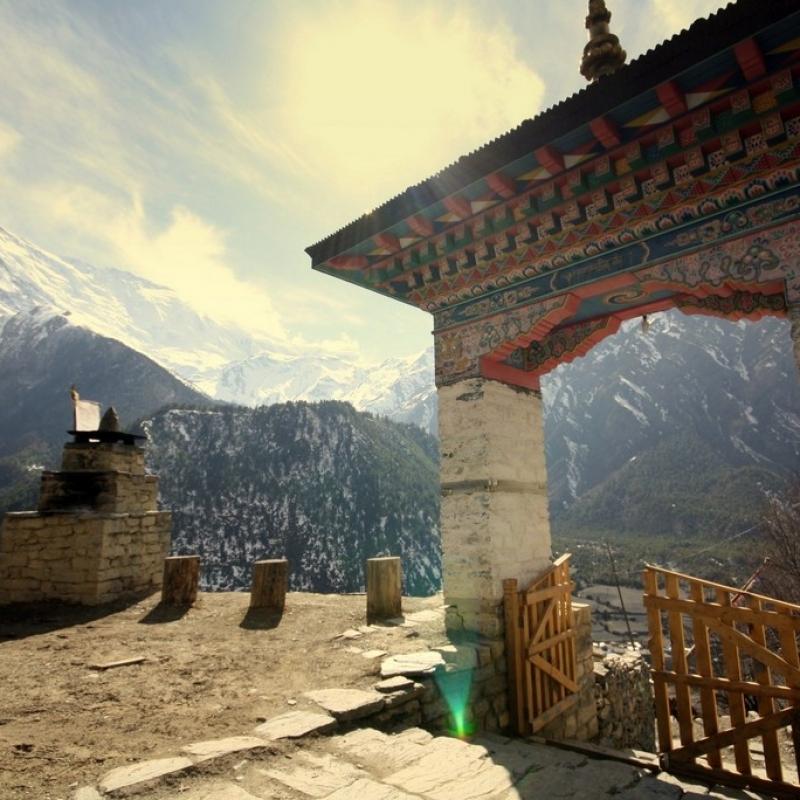 Монастырь в Верхнем Писанге.