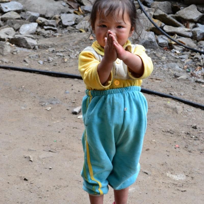 Намасте! После путешествия в Непал вы будете здороваться только так :)