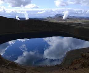 Вулкан Крафла