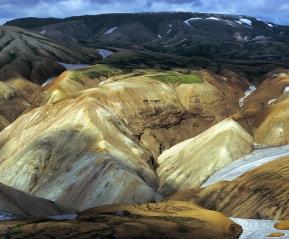 Риолитовые горы Ландманналаугар