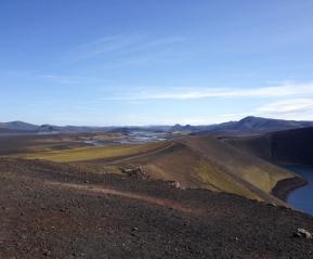 Долина в центре Исландии