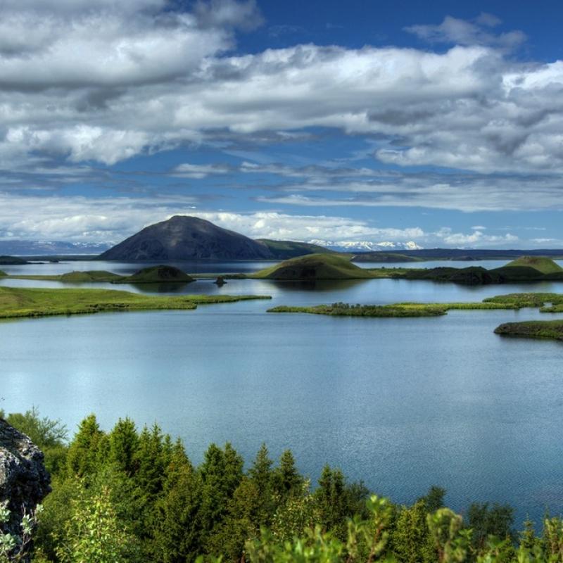 Озера Миватн