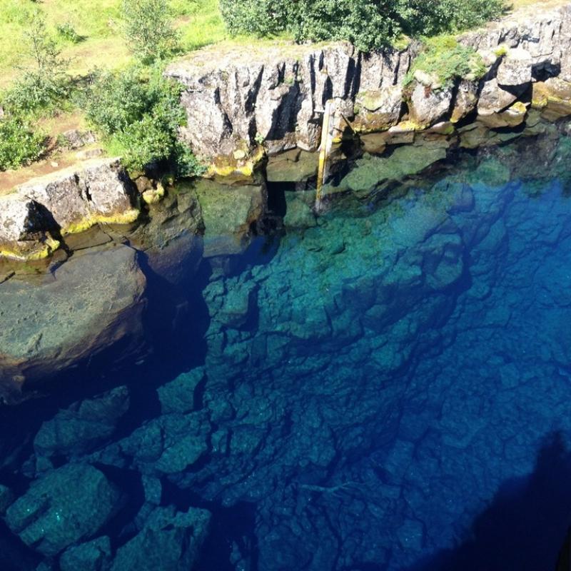 Разлом тектонических плит в Национальном парке Тингветлир