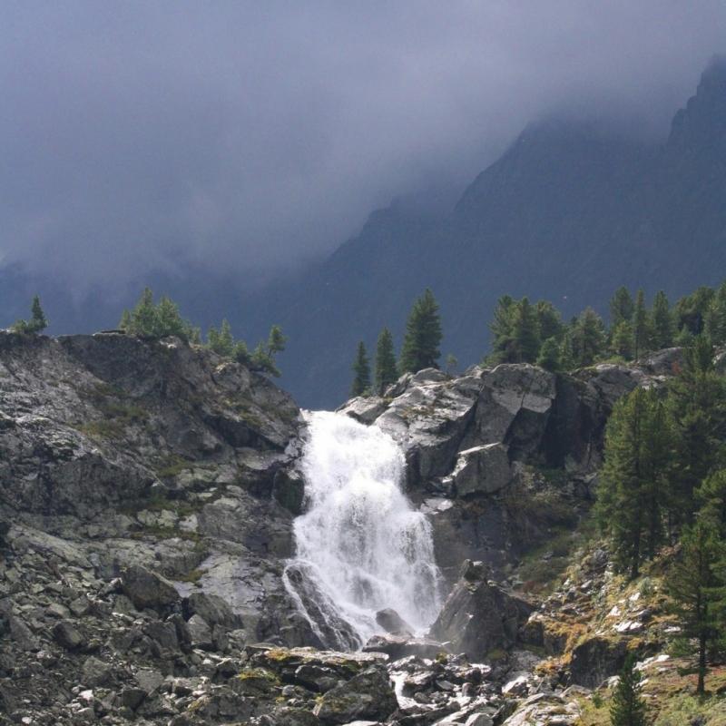 Водопад Куйгук.