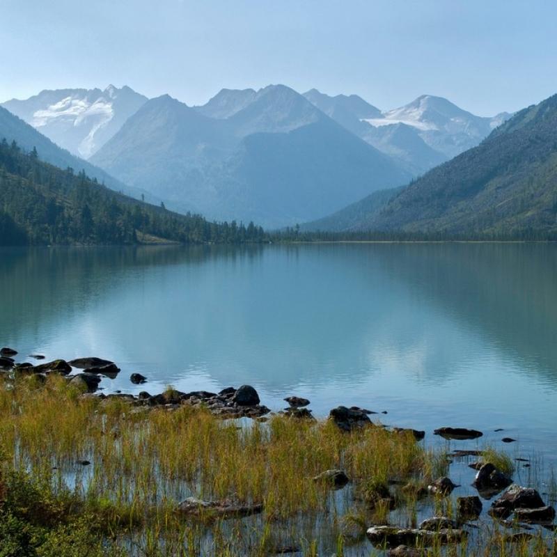 Среднее Мультинское озеро.