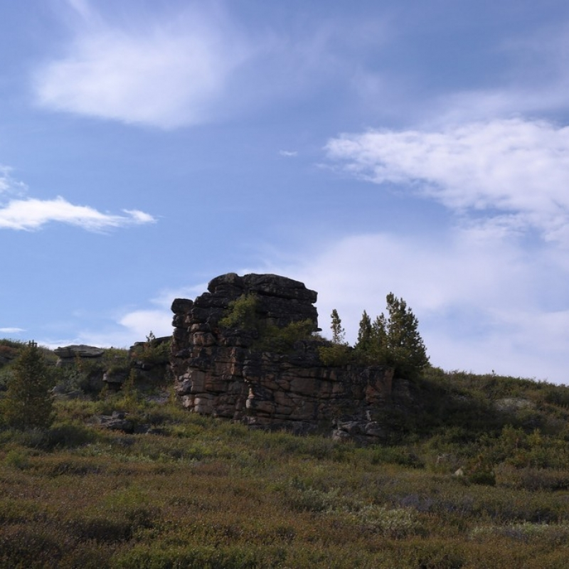Древние горы- Останцы