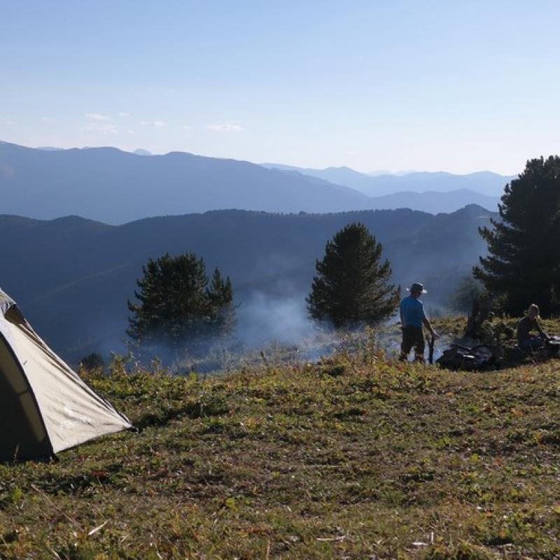 Лагерь на ручье Тухман, 2800 над уровнем моря!