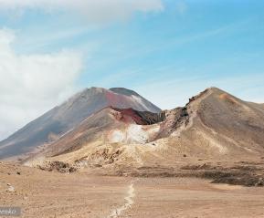 Вулкан Тонгариро.