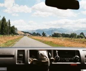 Дорога в Новой Зеландии.