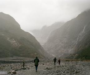 По дороге к леднику.